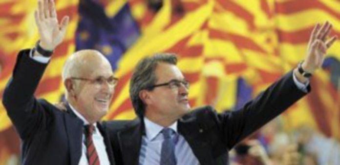 Durán i Lleida (i) es el jefe de filas de UDC
