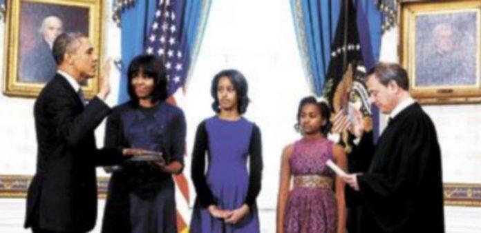 Barack Obama promete el cargo de presidente de EEUU