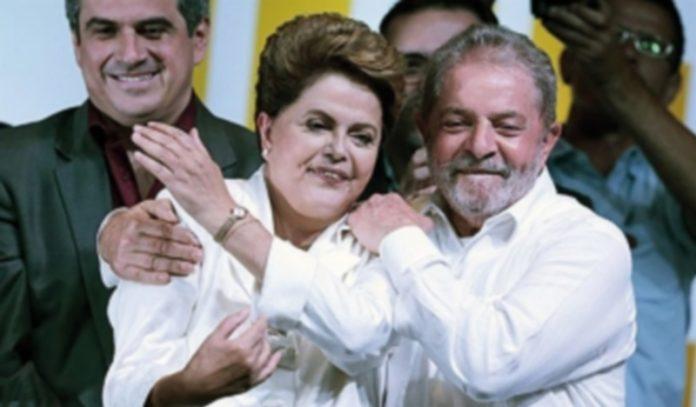 Lula y Rousseff durante la última campaña electoral brasileña. / Europa Press