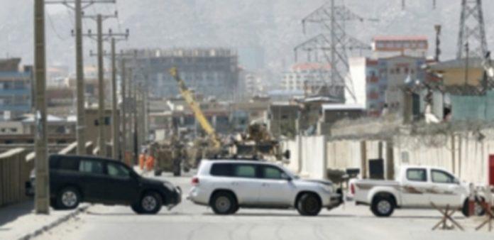 Uno de los lugares de los ataques talibán contra la ciudad de Kabul. / EFE
