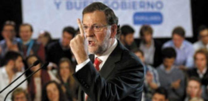 Mariano Rajoy durante su intervención en la clausura de las jornadas sobre buen gobierno organizadas por el PP. / EFE