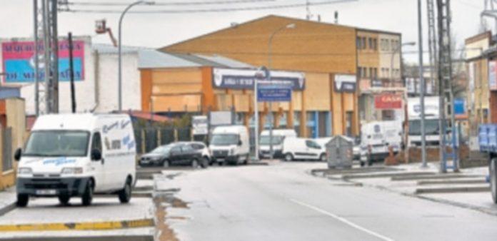 El polígono de 'El Cerro' acoge mucha de las empresas de la capital segoviana. / Kamarero