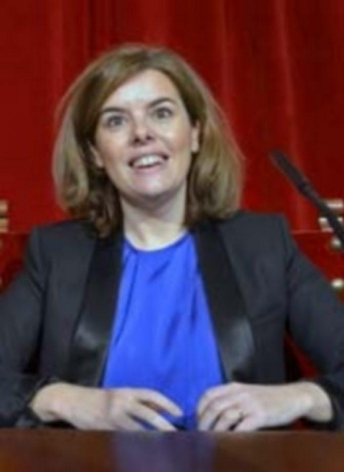 La vicepresidenta del Gobierno