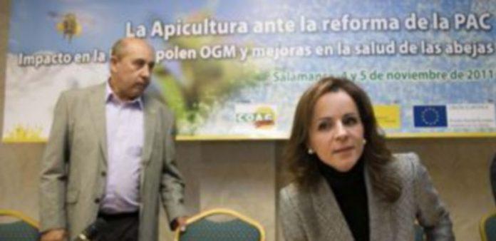 Silvia Clemente inauguró ayer las XVII Jornadas Estatales del Sector Apícola organizadas por COAG. / Ical