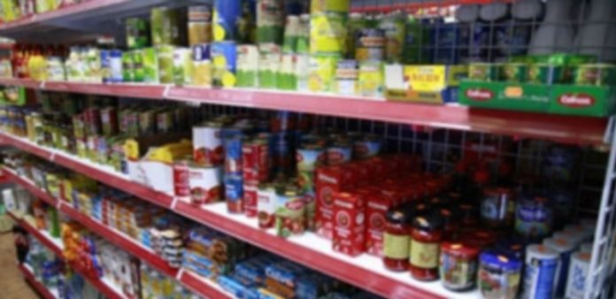 Las ventas de productos alimentarios han repuntado un 1