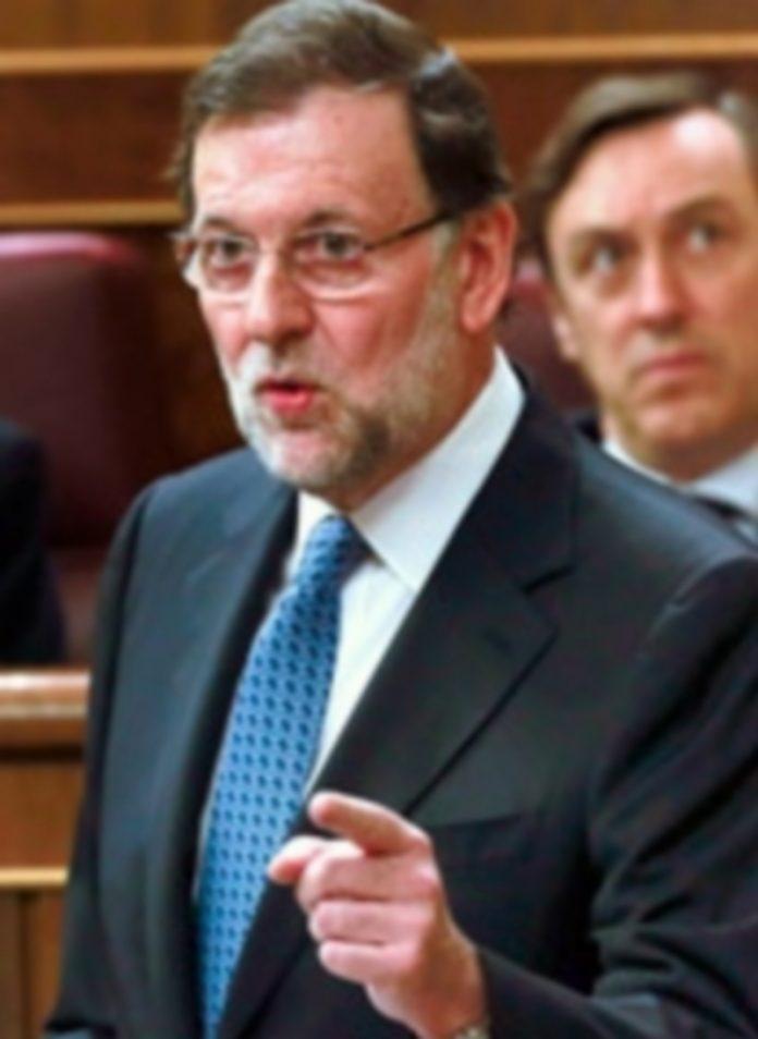 El presidente del Gobierno durante su intervención ante el pleno del Congreso. / Efe