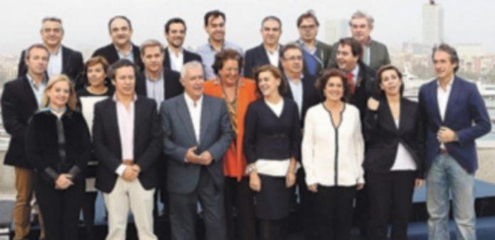 La cúpula del PP en Cataluña
