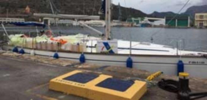 Embarcación localizada por la Agencia Tributaria. / E.P.