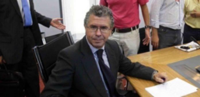 El expresidente de Madrid presuntamente implicado en la trama. / E.P.