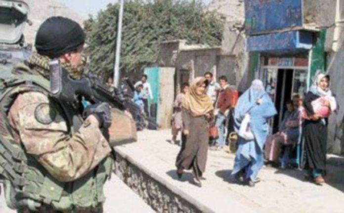 Las tropas aliadas están preparadas para prevenir posibles atentados contra la jornada electoral del próximo jueves en Afganistán. / EFE