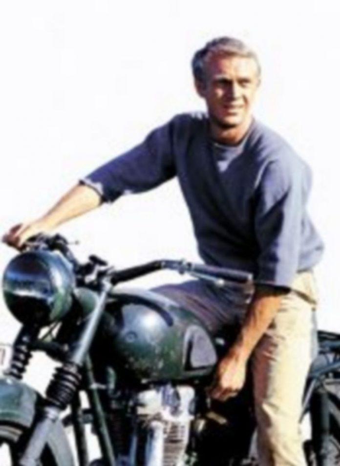 Steve McQueen en un momento de la película.
