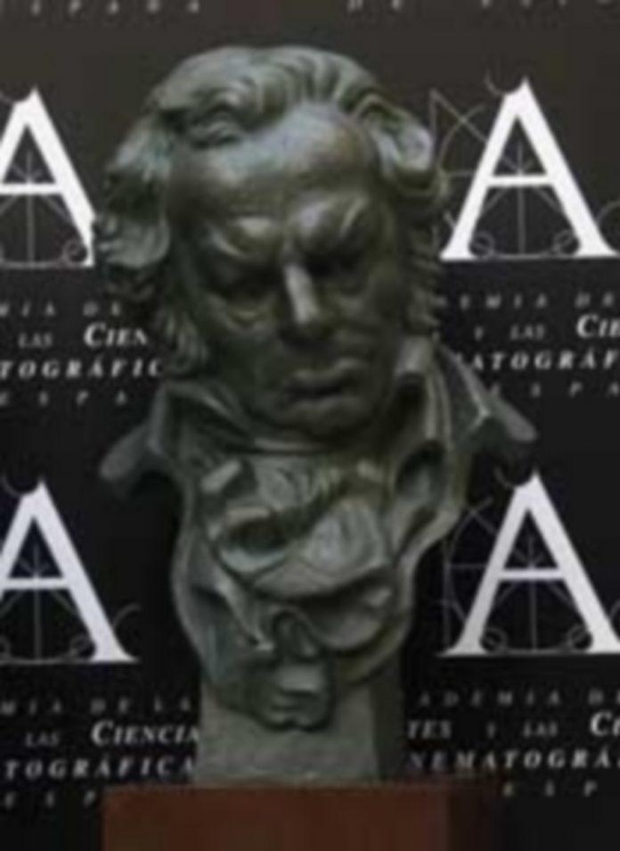 La estatuilla oficial de los Premios Goya