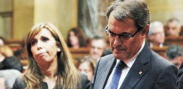 Los desencuentros entre la 'popular' Alicia Sánchez Camacho y el líder de CiU son constantes desde hace semanas. / Reuters