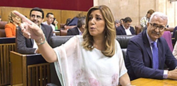 La candidata a la Presidencia de la Junta de Andalucía
