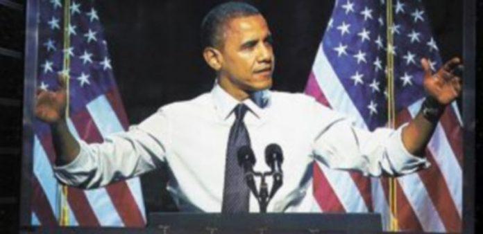 El candidato demócrata ha optado por la palabra 'Adelante' para la campaña de este año. / Reuters