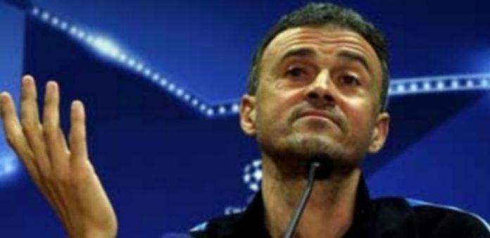Luis Enrique aseguró en rueda de prensa tener confianza ciega en sus jugadores pese a perder el Clásico ante el Madrid. / EFE