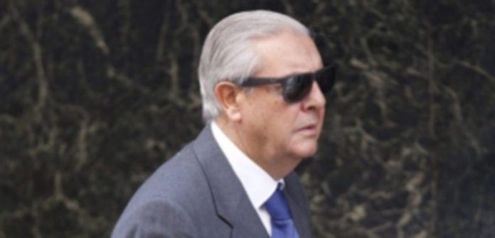 El expresidente de Renfe Miguel Corsini a su llegada a la Audiencia Nacional. / Efe