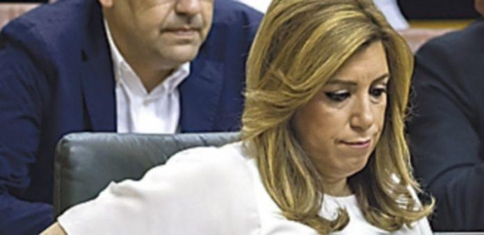 La presidenta de la Junta andaluza