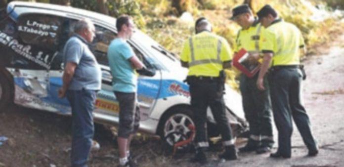 Entre los seis fallecidos en la tarde del sábado por el accidente en el Rally de A Coruña había dos mujeres embarazadas. / EFE