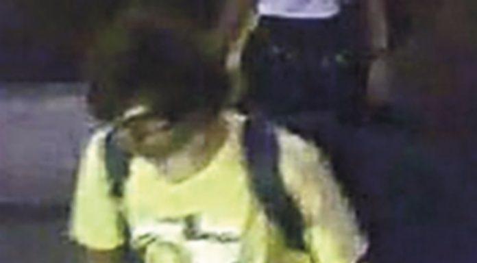 Imagen de la cámara de seguridad del principal sospechoso del atentado. / EFE