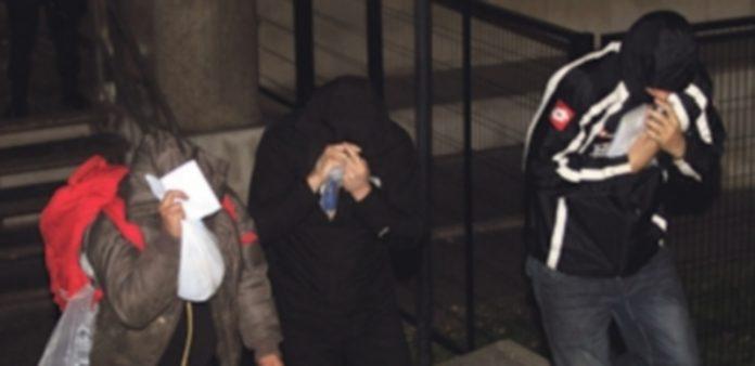 Los veintiún detenidos salieron de los juzgados de plaza Castilla