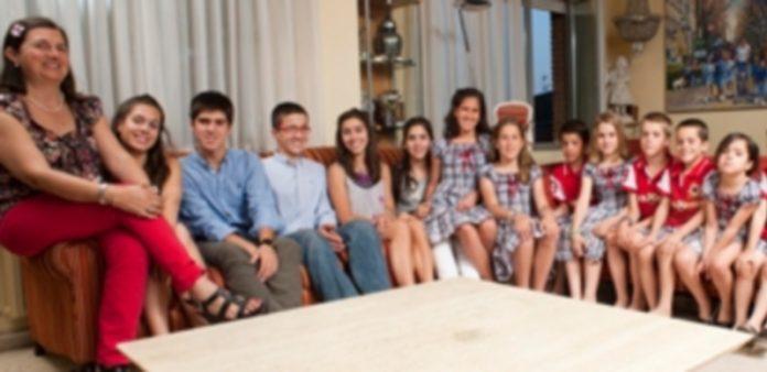La familia Postigo Pich al completo