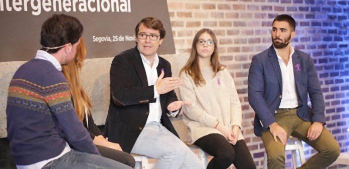 El presidente del Partido Popular de Castilla y León