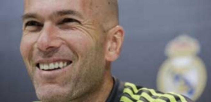 El entrenador francés del Real Madrid
