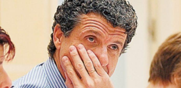 Andrés Torquemada se mostró hastiado del tema del Patronato. / NEREA LLORENTE