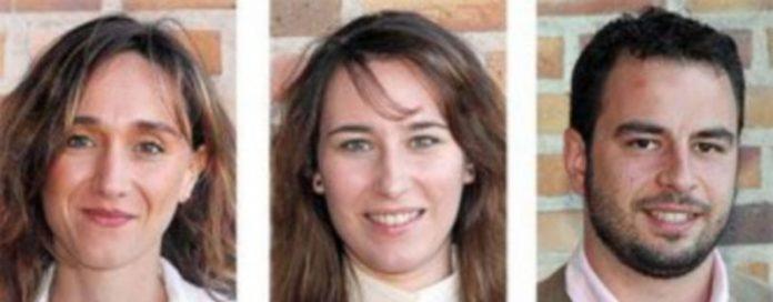 María José Uñón. / Cristina Castán. / Daniel Sobrados.