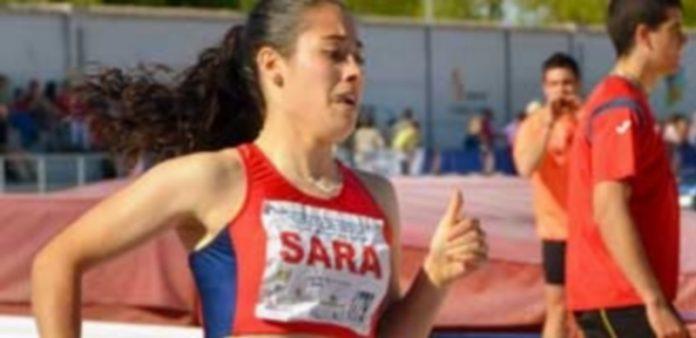 La atleta segoviana Sara Gómez