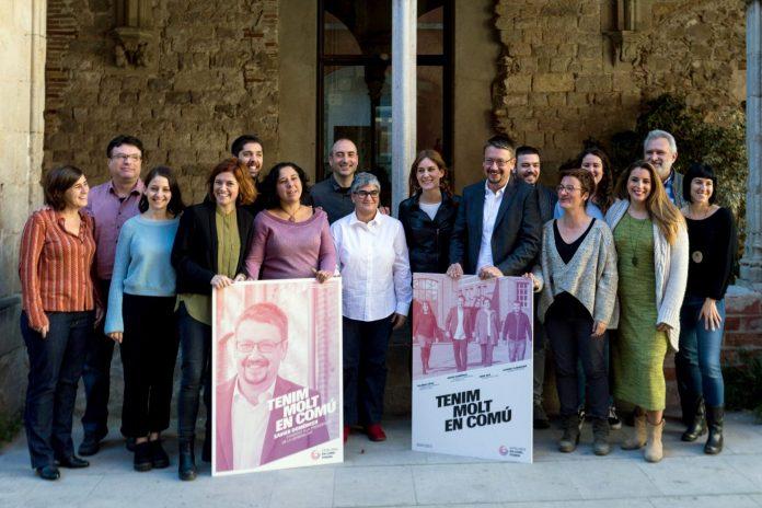 Xavier Domènech y Elisenda Alamany, cabezas de lista de Catalunya en Comú-Podem, aseguran que su meta es derrocar los bloques de partidarios y detractores del soberanismo.