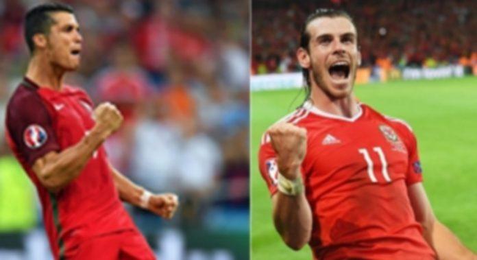 Cristiano Ronaldo (izquierda) y Gareth Bale son los líderes indiscutibles de Portugal y Gales