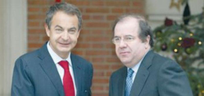 Rodríguez Zapatero y Juan Vicente Herrera