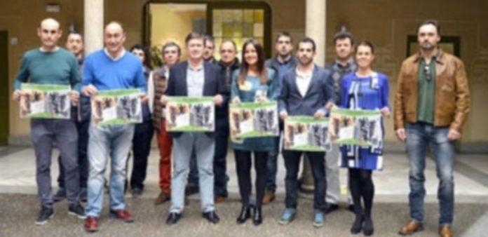 Presentación del circuito provincial de BTT en la Diputación de Segovia. / TAMARA DE SANTOS