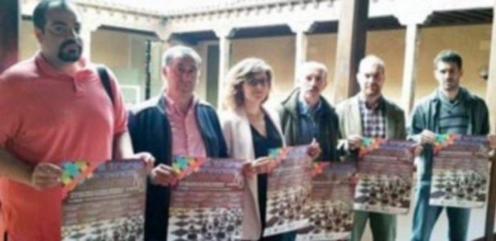 Los protagonistas de la presentación del Trofeo Provincial