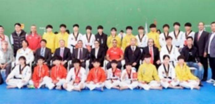 El equipo coreano ya visitó el pabellón de Las Adoberas de Cantalejo el año pasado. / EL ADELANTADO