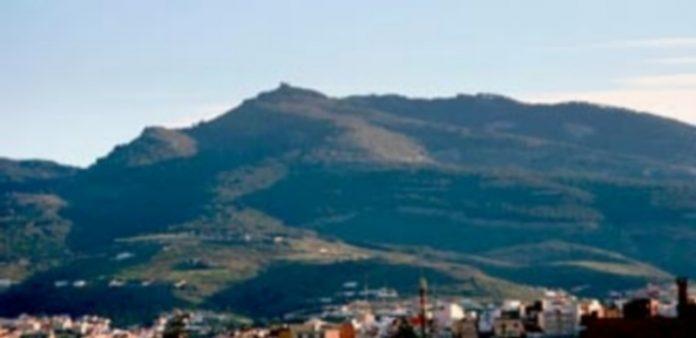 Vista panorámica del monte Gurugú al que piensan acudir con materiales