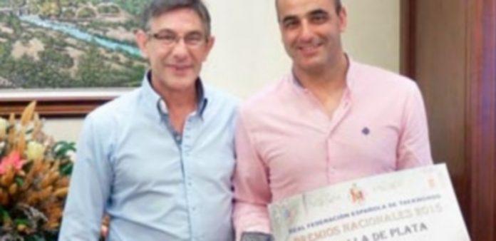 El presidente de la Federación de Castilla y León de taekwondo