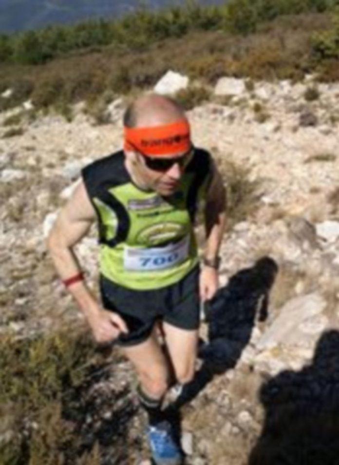 El corredor de montaña granjeño Raúl García Castán