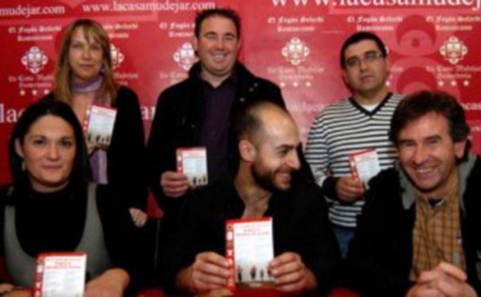 Seis de los siete organizadores de las pruebas del Circuito. /Alberto Benavente