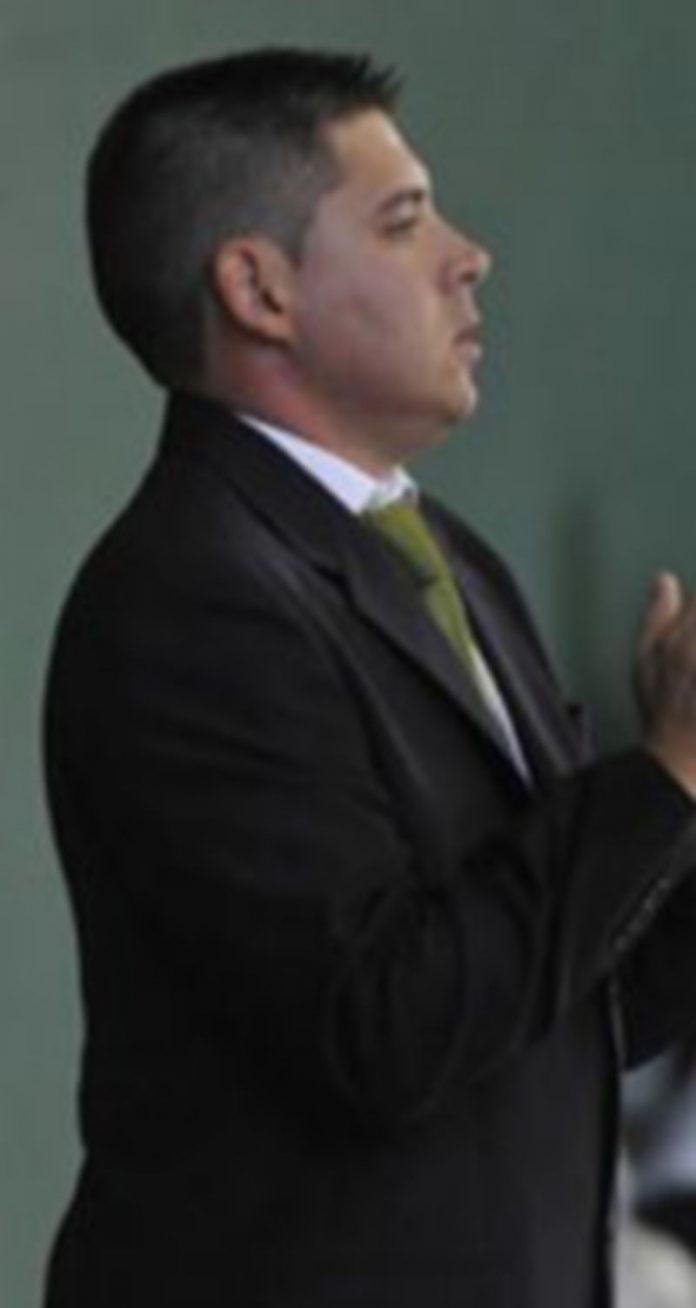 El entrenador segoviano Diego Gacimartín