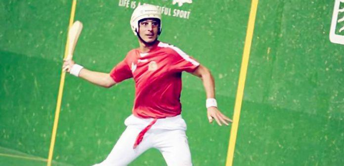 El pelotari Carlos Baeza