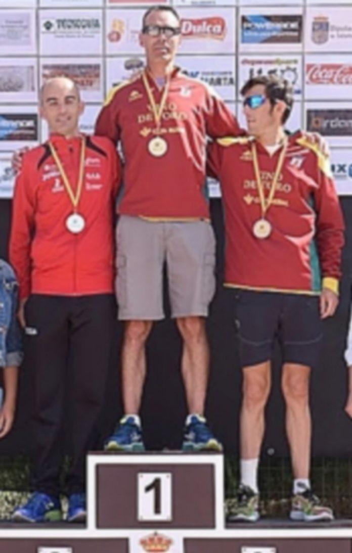 El atleta José Miguel Carreño