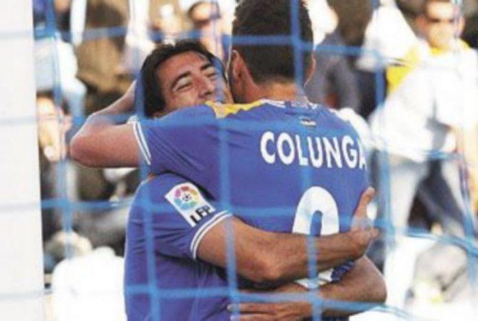 Adrián Colunga marcó el 2-0 gracias a una pena máxima. / Zipi (Efe)