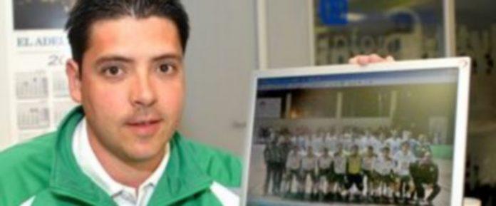 El entrenador del FS Valverde del Majano