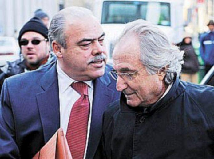 El financiero neoyorquino Bernard Madoff