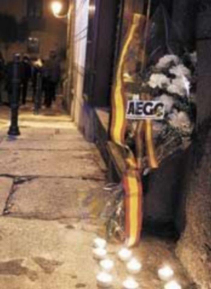 Concentración en Madrid en homenaje a los guardias civiles asesinados por ETA. / Elena Buenavista