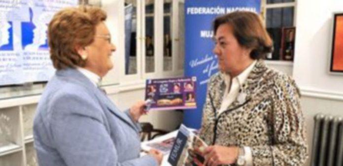 Juana Borrego y Elena García Gil
