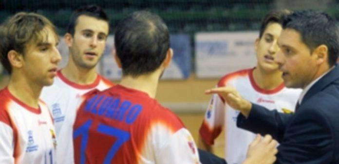 Un tiempo muerto de un partido del Segovia Futsal. / kamarero